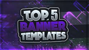 Best Youtube Banner Top 5 Free Youtube Banner Templates 1 Download 2018 Best Of Coole