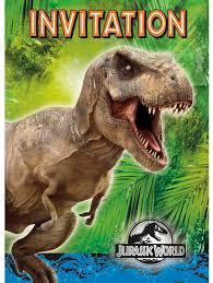Jurassic Park Invitations Jurassic World Dinosaur Party Planning Ideas Supplies