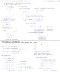 calculus max min answers 3