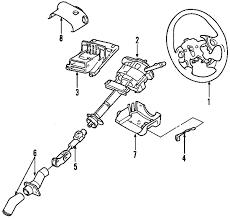 parts com® buick rendezvous steering column oem parts 2003 buick rendezvous cx v6 3 4 liter gas steering column