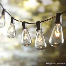 decorative string lighting. cheap st38 bulb string light tungsten filament clear 10 lights 110v us plug garden courtyard festival decorative christmas outdoor globe lighting