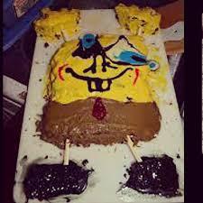Sponge Bob Cake 5 Spongebob Birthday Cake 25