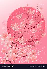Beautiful Spring Cherry Blossom Background