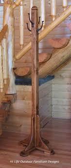 Cast Iron Tree Coat Rack Mina Coat Tree Handmade Alder Wood 100 Cast Iron Hook Hat Stand 22