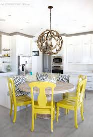 best 25 yellow kitchen tables ideas on redoing for attractive home yellow dining room chairs ideas