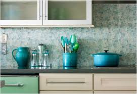 mosaic glass backsplash tile inviting blue glass subway tile finest kitchen design rectangle light blue
