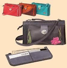 erica leather cross purse kit