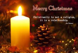 Christian Merry Christmas Quotes Best Of Merry Christmas Christianity Is Not A Religion It Is A