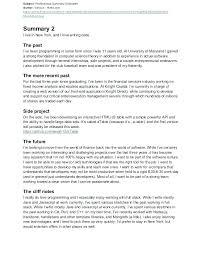 Resume Professional Summary Examples Noxdefense Com