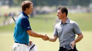jordan spieth rory mcilroy two back after matching 67s at wgc bridgestone