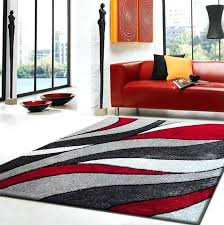modern red rug outstanding rug factory plus hand tufted area rug reviews within red black and