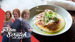 from scratch with katie meat and creamy polenta with the vault women s closet exchange