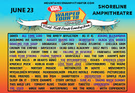 Warped Tour Seating Chart Vans Warped Tour Tickets 23rd June Shoreline