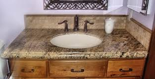 Granite Bathroom Countertops Beige Granite Bathroom Countertop - Granite countertops for bathroom