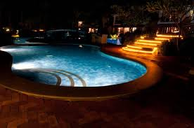 pool cage lighting. Outdoor Lighting Trends For Long Winter Nights Cypress Custom Pools Pool Cage At Night Li