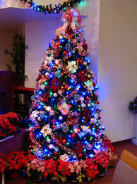 ... Candy Cane Christmas Tree with Multicolor Lights | by Mastery of Maps
