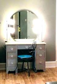 makeup table without mirror white modern bedroom vanity tables set with lighted large image for led