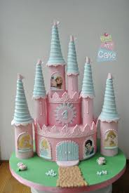Disney Princess Castle Cake Pink Princess Party In 2019