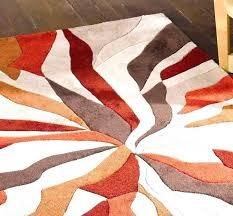 burnt orange rug. Brown And Burnt Orange Rugs Rug Splinter Modern S