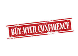 Image result for buy with confidence