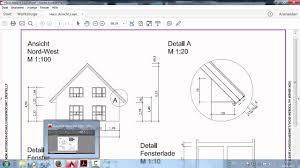 Autocad 2016 Haus Ansicht Und Details Teil 6 Bemassung Und