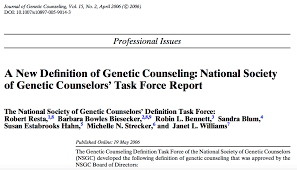 Genetic Counselor The Dna Exchange