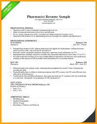 Objective For Pharmacy Resume Sample Hospital Pharmacist Resume Objective Example Spacesheep Co