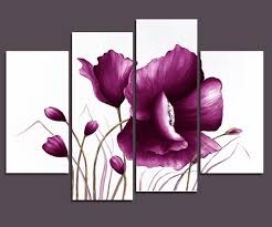 amazon wieco art large purple plum flowers modern wrapped within most current purple flowers on plum flower canvas wall art with photos of purple flowers canvas wall art showing 14 of 15 photos
