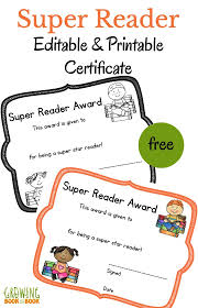 Check out free templates for word for a. Literacy Printable Certificates That You Can Edit