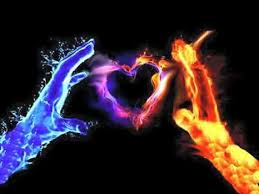 Dave Albiston on Twitter   Fire heart, Fire and ice wallpaper, Fire and ice