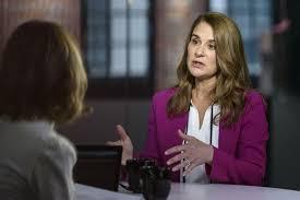 """Melinda Gates im Interview: """"Geld verleiht Macht"""""""