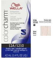 Wella Color Charm Liquid 12a 1210 Frosty Ash