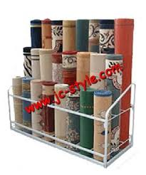 Rug Display Stand Retail Rolling Carpet Rug Display Standshop Yoga Mats Display 14