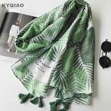 KYQIAO Bohemian winter <b>scarf</b> for women autumn Thailand style ...