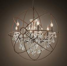 restoration hardware lighting chandelier beautiful mix of contemporary traditional in this light fixture by restoration hardware