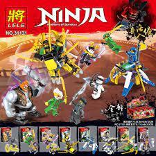 Mua Đồ chơi lắp ráp lego ninjago phần 8 ninja cho bé trai trọn bộ 8 hộp như  hình lele 31131. — Đồ chơi trẻ em