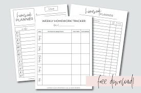 The Best Homework Planner Every Student Needs Free