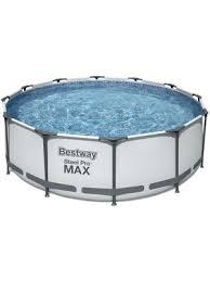 «<b>Бассейн каркасный Bestway</b> 56418 с фильтр-насосом и ...