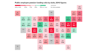 Ct Teacher Pension Chart Pension Fund Problems Worsen In 43 States