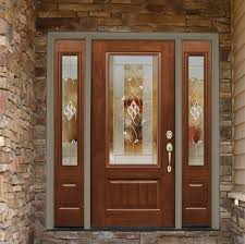 fiberglass and steel entry doors