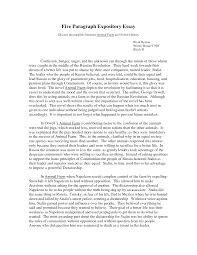 How To Start An Expository Essay Good Expository Essay Examples Research Paper