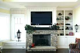tv above mantel installing over fireplace over mantle install above brick fireplace hide wires tv over
