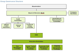 Corporate Governance Structure Chart Agthia Investors Corporate Governance Group Governance