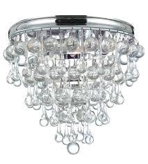 3 light flushmount ch calypso 3 light inch polished chrome flush mount ceiling light in 3 3 light flushmount