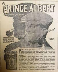 Sutton Nebraska Museum: Prince Albert Tobacco AD