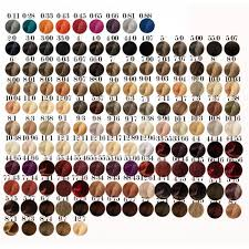 Well Hair Color Chart Koleston Perfect Hair Color 0 33 Hair Dye