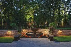 deck and wall lighting outdoor accents lighting pool retaining wall lights