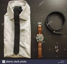 Mens Designer Accessories Mens Smart Formal Clothing With Designer Accessories Stock