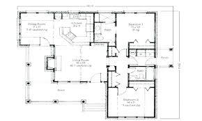 bedroom bungalow floor plan modern house plans craftsman small