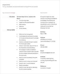 How To Make A High School Resume Colbroco Fascinating How To Make A High School Resume